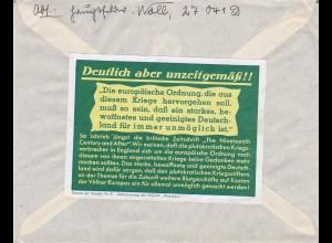 Parole der Woche: PdW: Nr. 8/1941 auf Feldpost Brief Nr. 27041