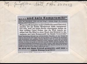 Parole der Woche: PdW: Nr. 10/1941 auf Feldpost Brief Nr. 27041