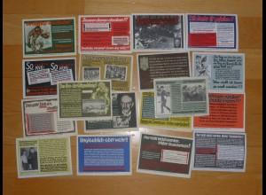 Parole der Woche: PdW: KOMPLETTE SAMMLUNG !!! Nr. 36/1939-52/1942