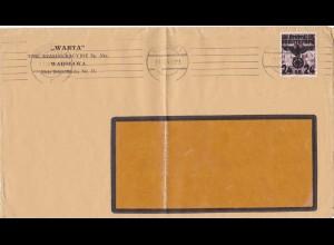 Generalgouvernement (GG): Drucksache Brief ins Ausland