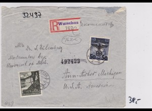 GG: Brief von Warschau nach USA