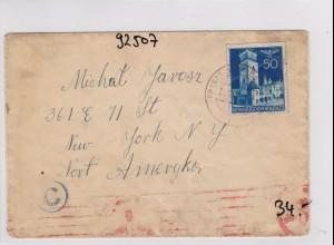 GG: Brief nach USA
