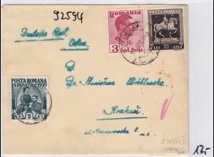 GG: Brief aus Rumänien nach Krakau, Zensur