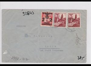 GG: Brief von Tarnow nach Frankreich/Zensur