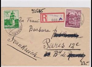 GG: Einschreiben von Krakau nach Paris, Zensur