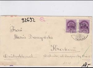 GG: Brief von Ungarn nach Krakau, Zensur