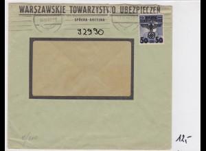 GG: Brief von Warschau ins Ausland, Zensur