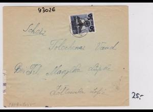 GG:Brief von Warschau nach Bern, Lübke, Zentrale für Weiterleitung der Briefe