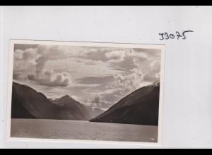 Ansichtskarte: Norge: Auf hoher See an Bord des M.S. Monte Rosa