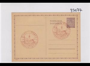 Ganzsache B&M Sonderstempel 1941