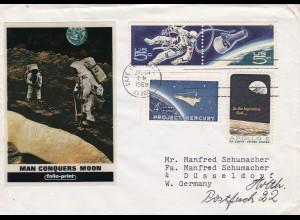 Cape Canaveral, Man conquers Moon, Hoesch AG, Danke von Hoesch, Hamm 1969