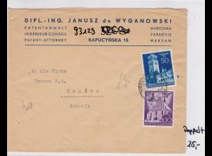GG: 2. Gewichtsstufe, Warschau nach Genf, Zensur