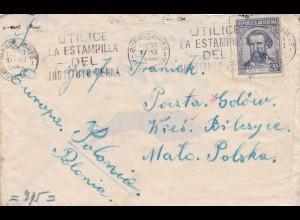 GG: Brief von Buenes Aires ins Generalgouvernement, Zensur