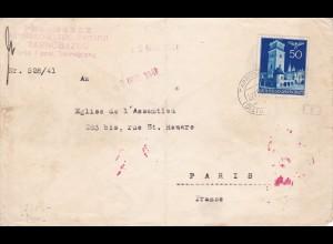 GG: Tarnoberzeg/Pfarrsekretärin nach Frankreich/Paris Eglise de L'Assemtion