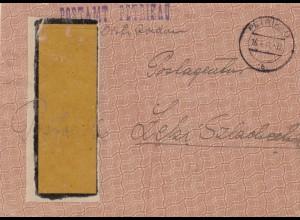 GG: 1941 Postsache Postamt Petrikau