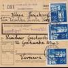 GG: Inland Paketkarte Krzesk Krolowa, MeF nach Warschau