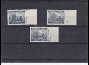 B&M: postfrisch, MiNr. 34 , Leerfeld, Stern