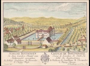 Baden: Bild von Schloss Bottmingen/Chateau de Bottmingue