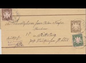 Bayern: Streifband 1899 von München nach Rittsteig