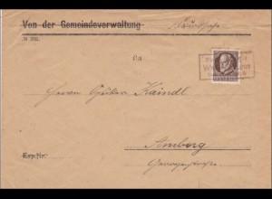 Bayern: Brief nach Amberg
