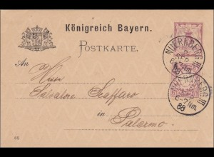Bayern: 1888 von Nürnberg nach Palermo