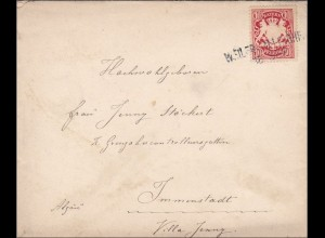Bayern: 1905, Brief nach Immenstadt