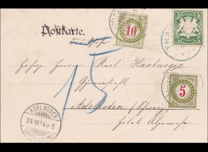 Bayern: 1904 in die Schweiz mit Nach TAXE
