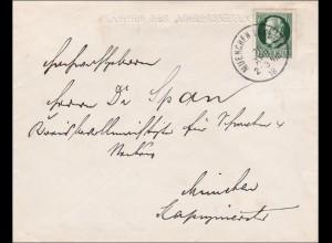 Bayern:1918; Abgeordneter der Bayrischen Kammer - München