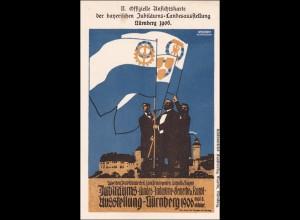 Bayern: Ganzsache Jubiläumsausstellung Nürnberg 1906