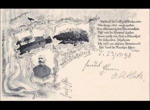 Bayern: Ansichtskarte: Staffelberg 1898