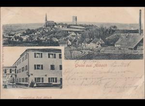 Bayern: Ansichtskarte: Gruss aus Abbach
