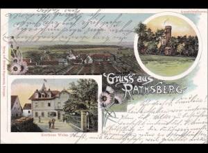 Bayern: Ansichtskarte: Gruss aus Rathsberg