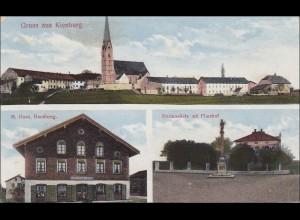 Bayern: Ansichtskarte: Gruss aus Kienberg