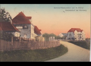 Bayern: Ansichtskarte: Reichelshof bei Nürnberg