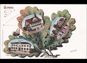 Bayern: Ansichtskarte: Gruss aus Friedheim
