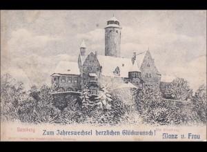 Bayern: schöne Ansichtskarte Bamberg