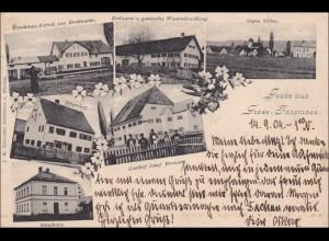 Bayern: Ansichtskarte: Gruss aus Gross Inzemaas