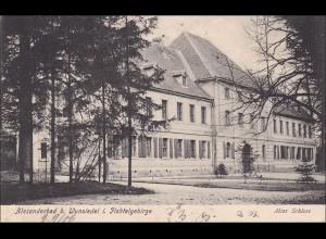 Bayern: Ansichtskarte: Alexanderbad bei Wunsiedel