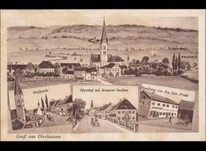 Bayern: Ansichtskarte: Gruss aus Oberhausen