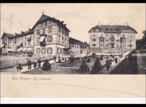 Bayern: Ansichtskarte: Bad Steben