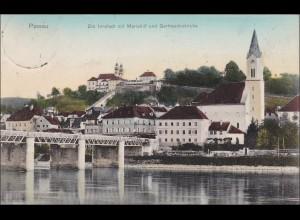 Bayern: Ansichtskarte: Passau