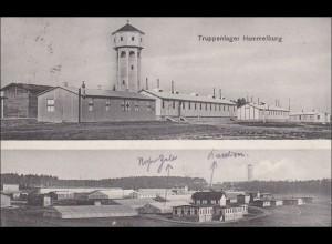 Bayern: Ansichtskarte: Hammelburg Truppenlager
