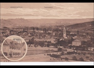Bayern: Ansichtskarte: Heidingsfeld