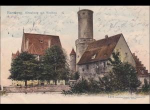 Bayern Ansichtskarte Bamberg