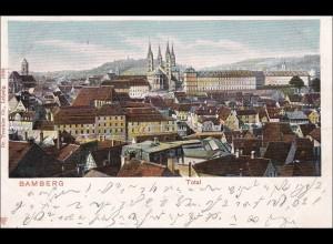 Bayern Ansichtskarte aus Bamberg