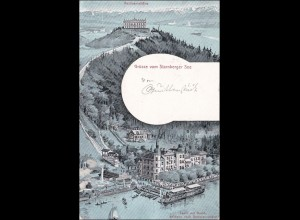 Bayern: Ansichtskarte: Starnberger See