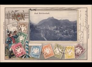 Bayern: Ansichtskarte: Bad Reichenhall