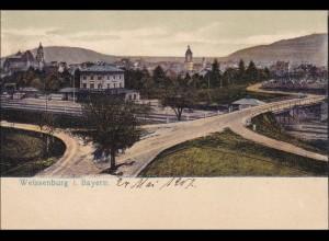 Bayern: Ansichtskarte: Weissenburg