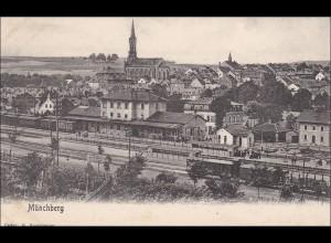 Bayern: alte Ansichtskarte Münchberg