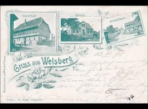 Bayern: Ansichtskarte: Gruss aus Welsberg